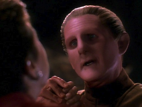 Star Trek Deep Space 9, Heart of Stone, Sisko, Odo