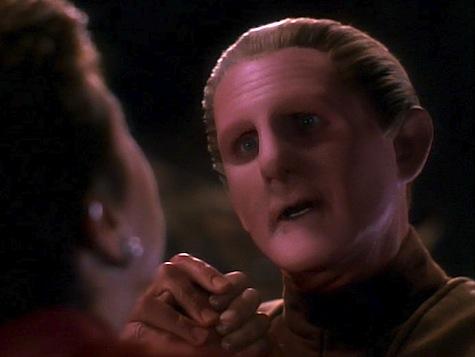 Star Trek Deep Space 9, Heart of Stone, Sisko, Odo