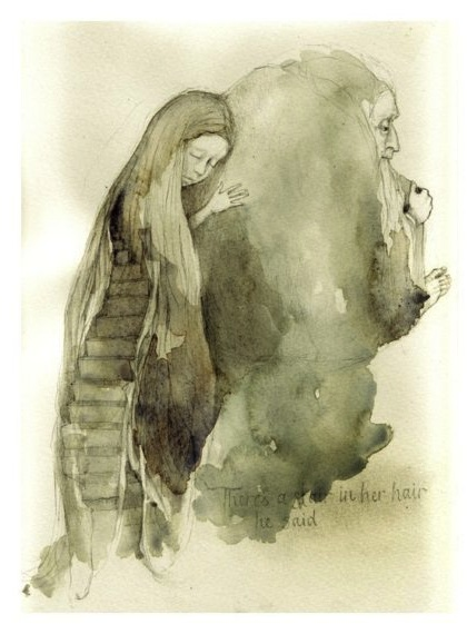 Stair in her Hair by Rima Staines