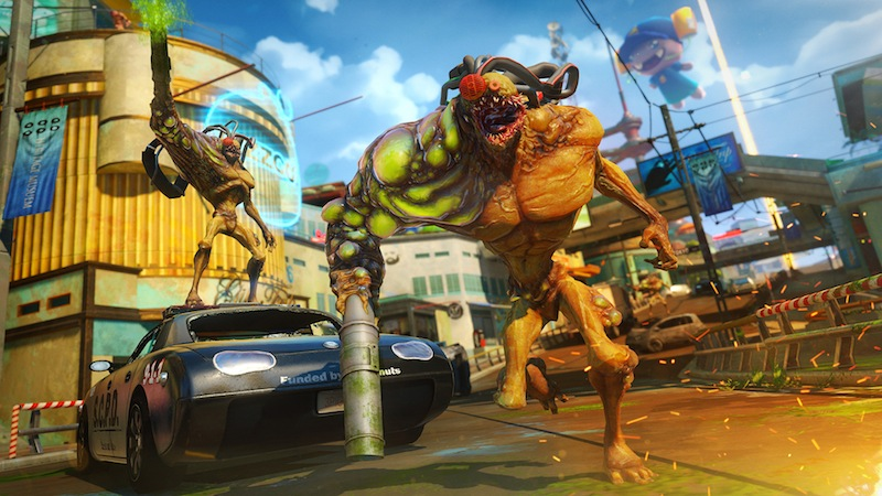 Sunset Overdrive SDCC