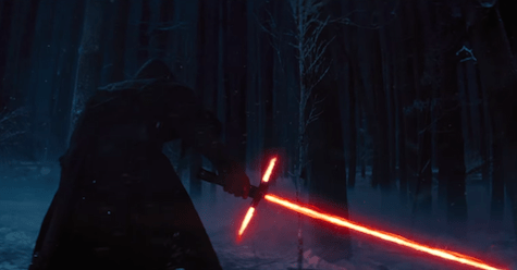 lightsaber crossguard, episode vii