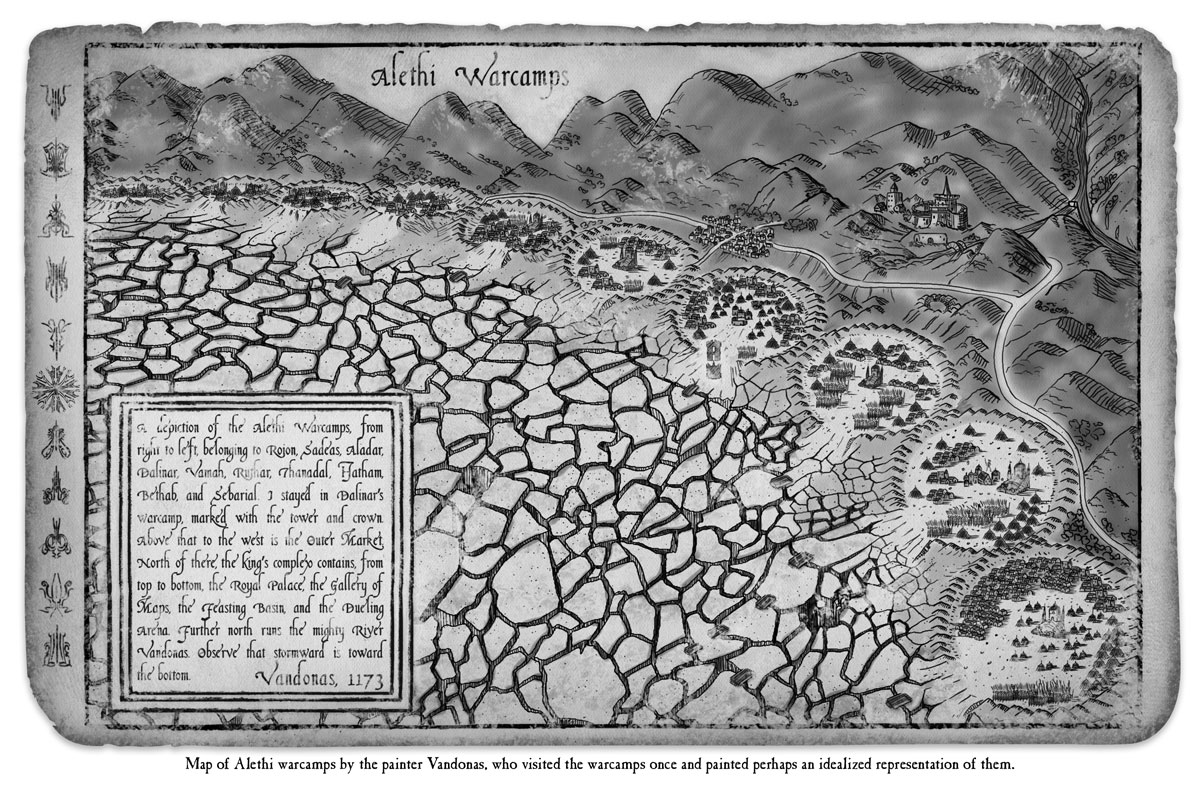 The Way of Kings Reread Brandon Sanderson Alethi Warcamps