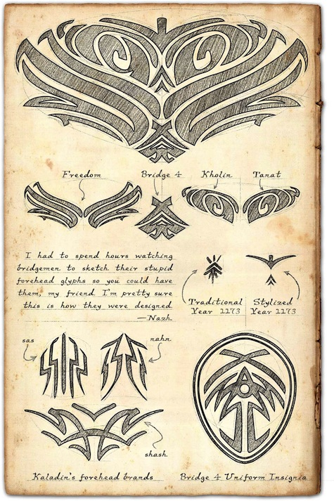 Words of Radiance Issac Stewart tattoos