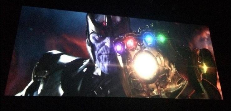 Avengers: Infinity War Thanos Infinity Gauntlet