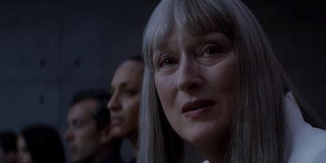 The Giver movie review Lois Lowry Jeff Bridges Brenton Thwaites Katie Holmes Meryl Streep Odeya Rush dystopia classic book vs movie