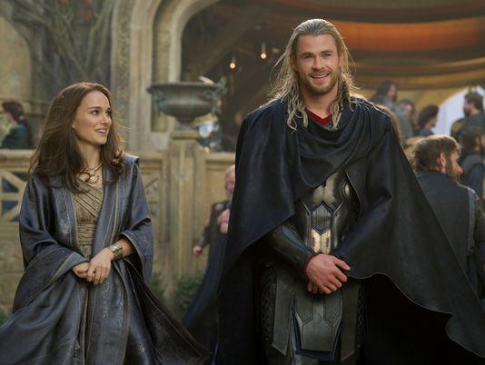Thor 2 The Dark World Jane Foster Asgard