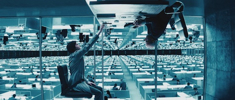 Upside Down movie review Jim Sturgess Kirsten Dunst Juan Solanas gravity Up Above Down Below