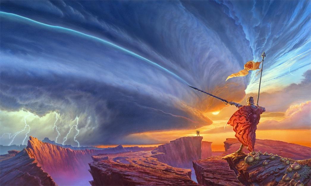 The Way of Kings art by Michael Whelan