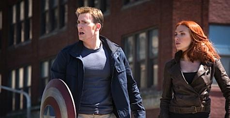 Captain America: Winter Soldier Black Widow