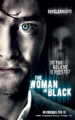 The Woman in Black movie poster Daniel Radcliffe