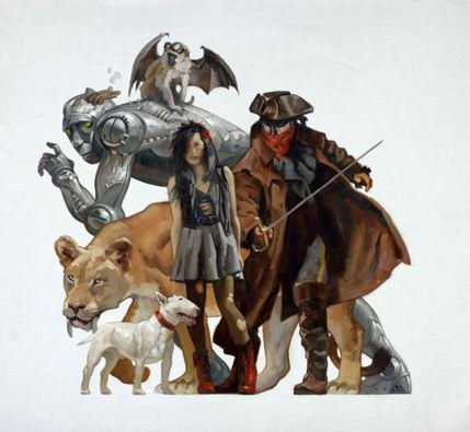 Weird Wizard of Oz by Greg Manchess