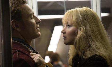 X-Men Days of Future Past, Mystique, Jennifer Lawrence, Magneto, Michael Fassbender