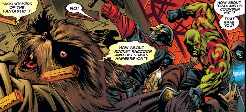 Guardians of the Galaxy prison break preview comic