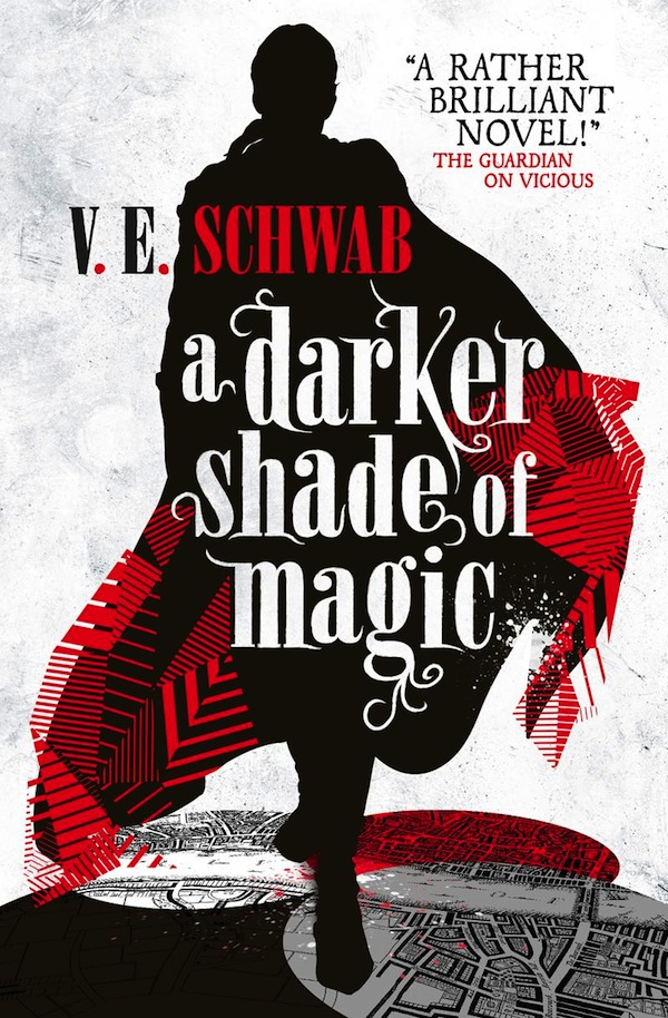 A Darker Shade of Magic VE Schwab excerpt Titan cover