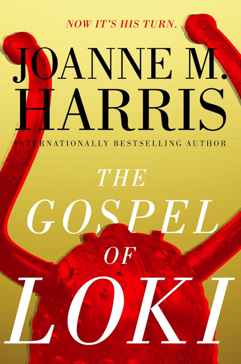 Joanne M Harris Gospel of Loki US cover Saga Press