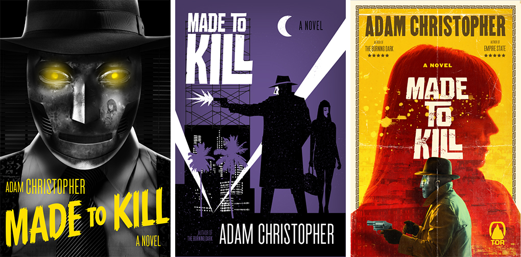 Made to Kill alternate covers