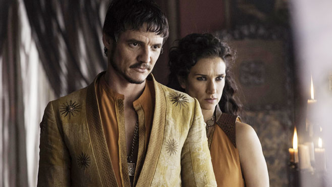 The Red Viper and Ellaria Sand (actual Sand Snakes not included)