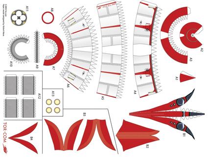 build your own stubby paper rocket. Black Bedroom Furniture Sets. Home Design Ideas