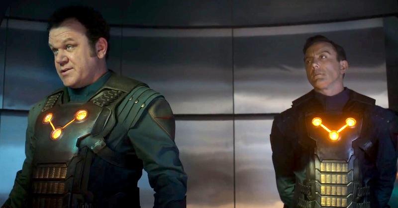 Guardian of the Galaxy, Peter Serafinowicz, John C. Reilly