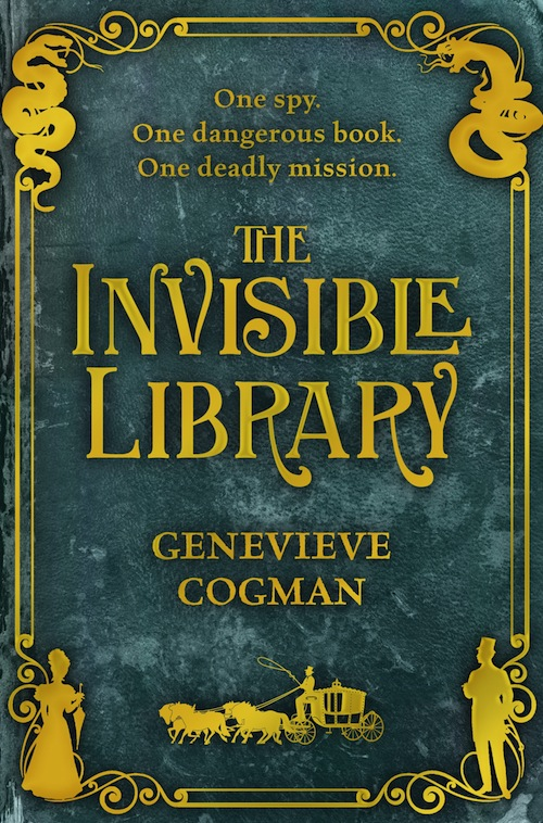Invisible Library Genevieve Cogman