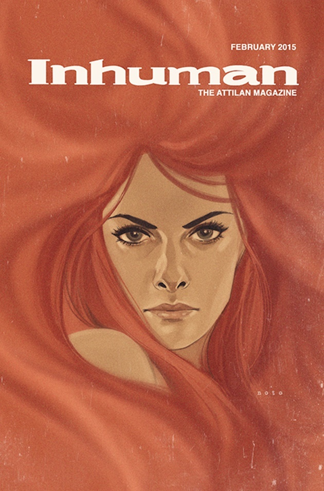 Phil Noto Marvel variant covers February 2015