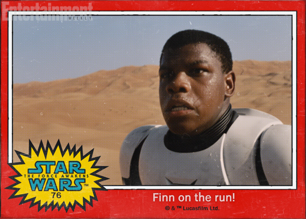 Star Wars: The Force Awakens character names Finn Stormtrooper John Boyega