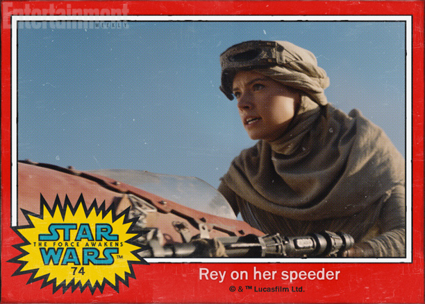 Star Wars: The Force Awakens character names Rey Daisy Ridley