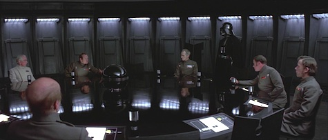 Star Wars, A New Hope, Imperial officers, Darth Vader, Grand Moff Tarkin