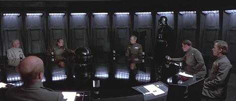 Star Wars, A New Hope, Imperial officers, Darth Vader, Grand Moff Tarkin