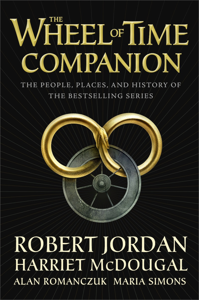 The Wheel of Time Companion cover Robert Jordan