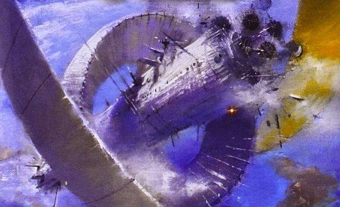 Silfen ice whales Pandora's Star