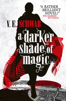 A Darker Shade of Magic VE Schwab Titan cover