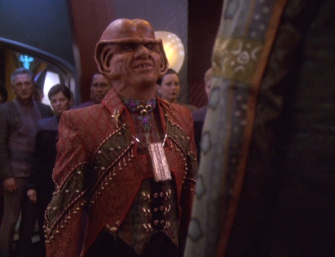 Star Trek Deep Space Nine Rewatch The Dogs of War Jeffrey Combs Brunt