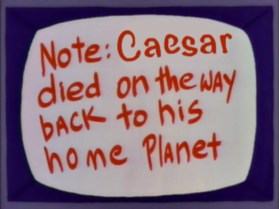 Julius Caesar Poochie