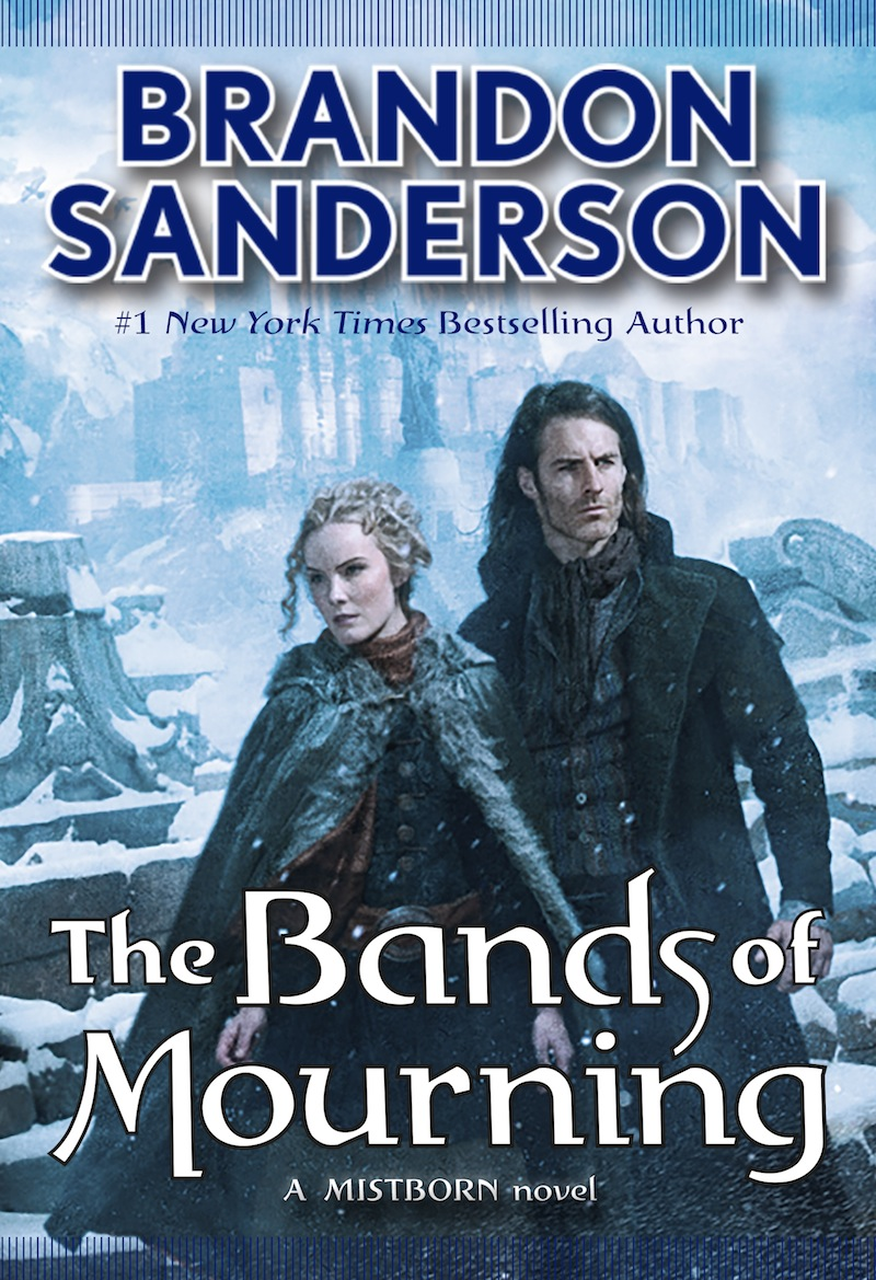 Mistborn Bands of Mourning cover Brandon Sanderson