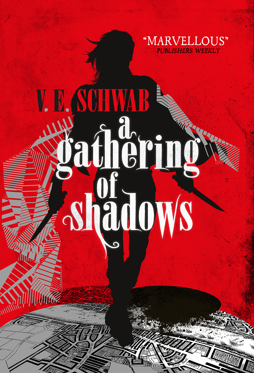 Image result for a gathering of shadows uk cover