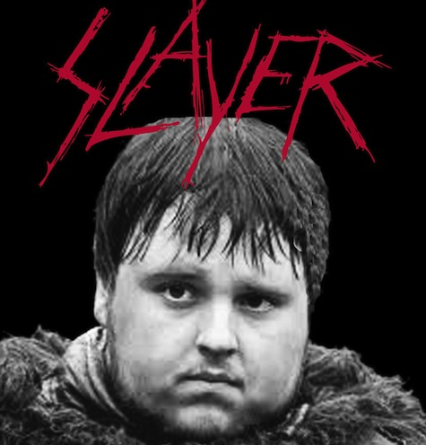 Sam Tarly Slayer Game of Thrones