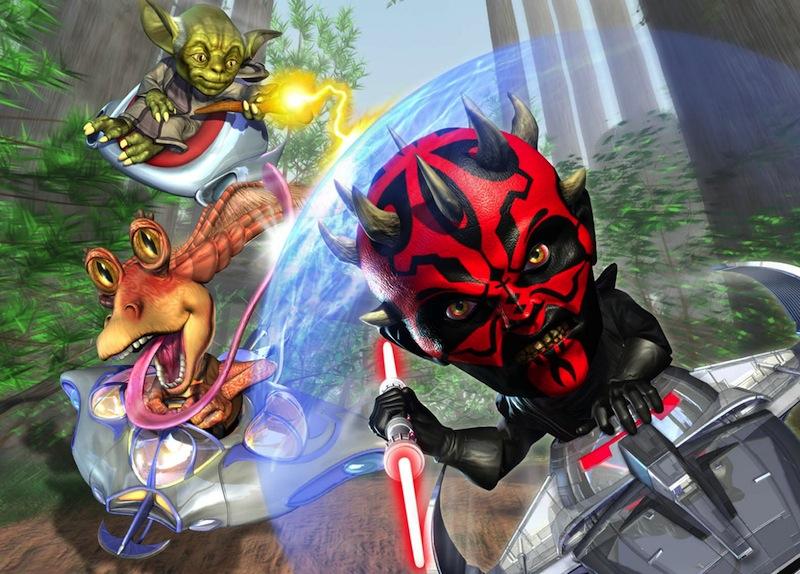 Star Wars Bombad Racing