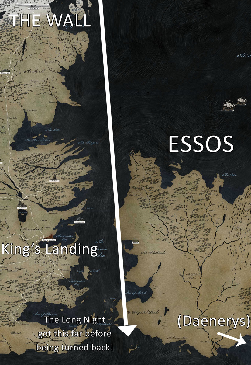 Essos Long Night Game of Thrones