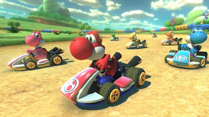 Mario Kart 8 Yoshis