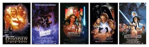 Star Wars Prequels and Original Trilogy