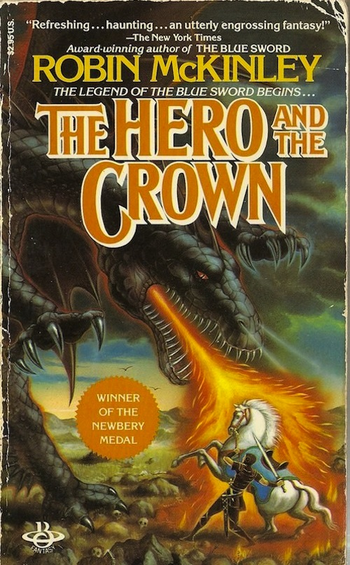 The Hero and the Crown book cover
