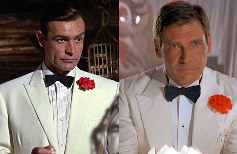 James Bond Star Wars Indiana Jones