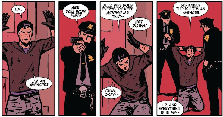 Hawkeye, comics, Matt Fraction, David Aja