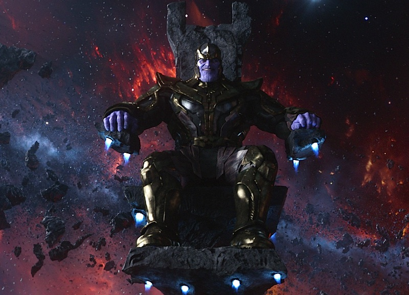 Thanos, Giant Space-Chair, Guardians of the Galaxy