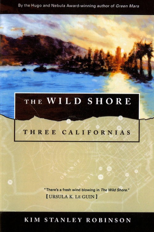 Three Californias Kim Stanley Robinson book covers