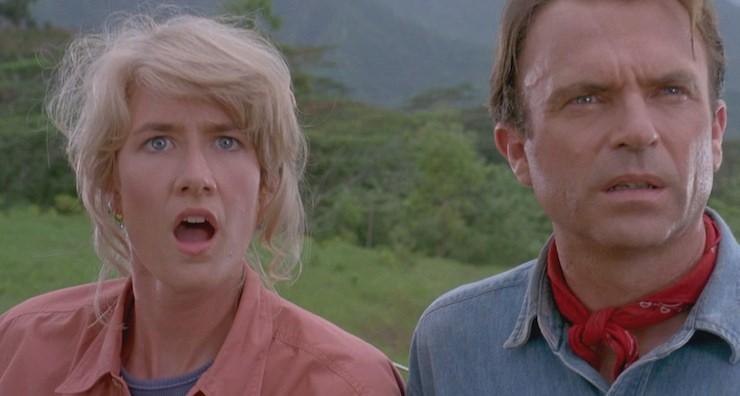 Jurassic Park, Dr. Grant, Dr. Sattler