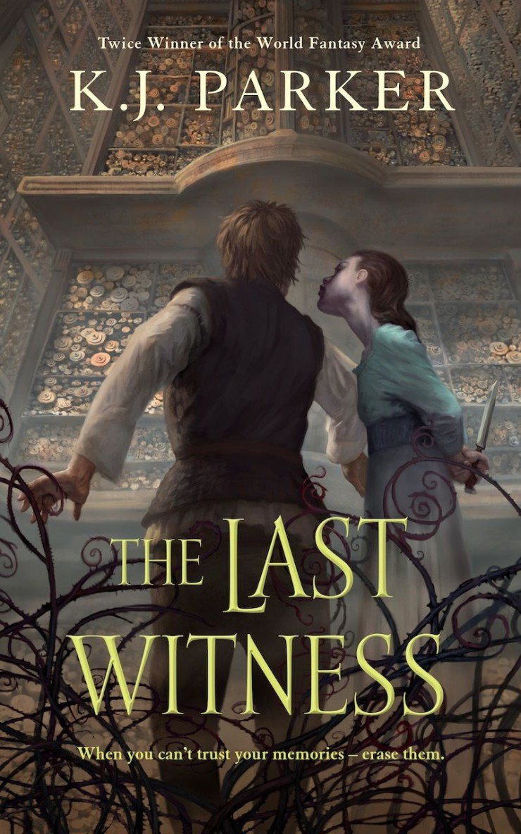 The Last Witness K.J. Parker cover reveal