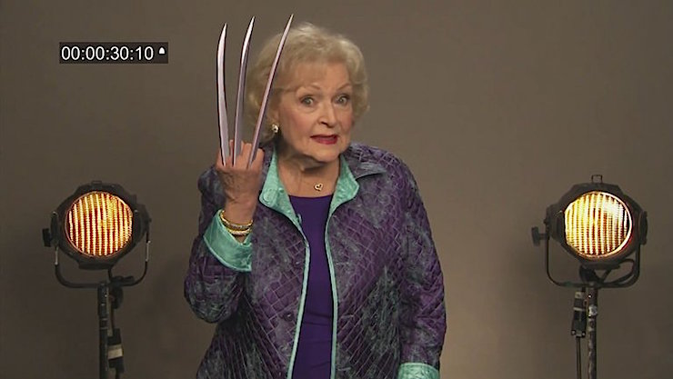 Betty White Wolverine
