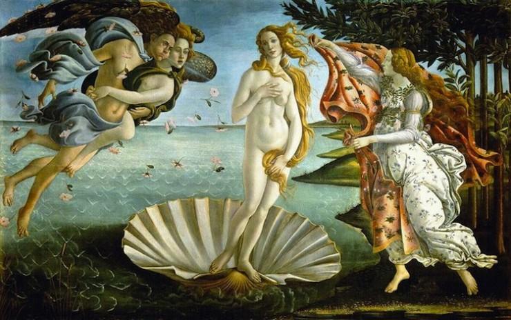 Botticelli, Birth of Love
